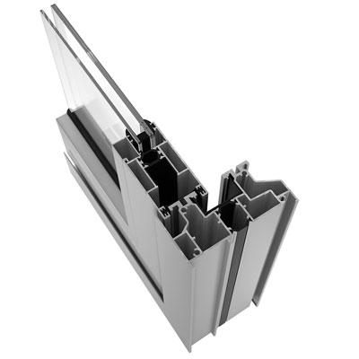 Ventanas de aluminio. Aluminios Pamplona